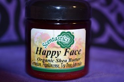 Happy Face Organic Shea Butter